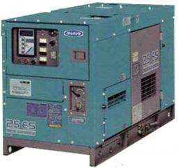 超低騒音型発電機25KVA