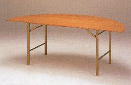半丸ベニヤテーブル